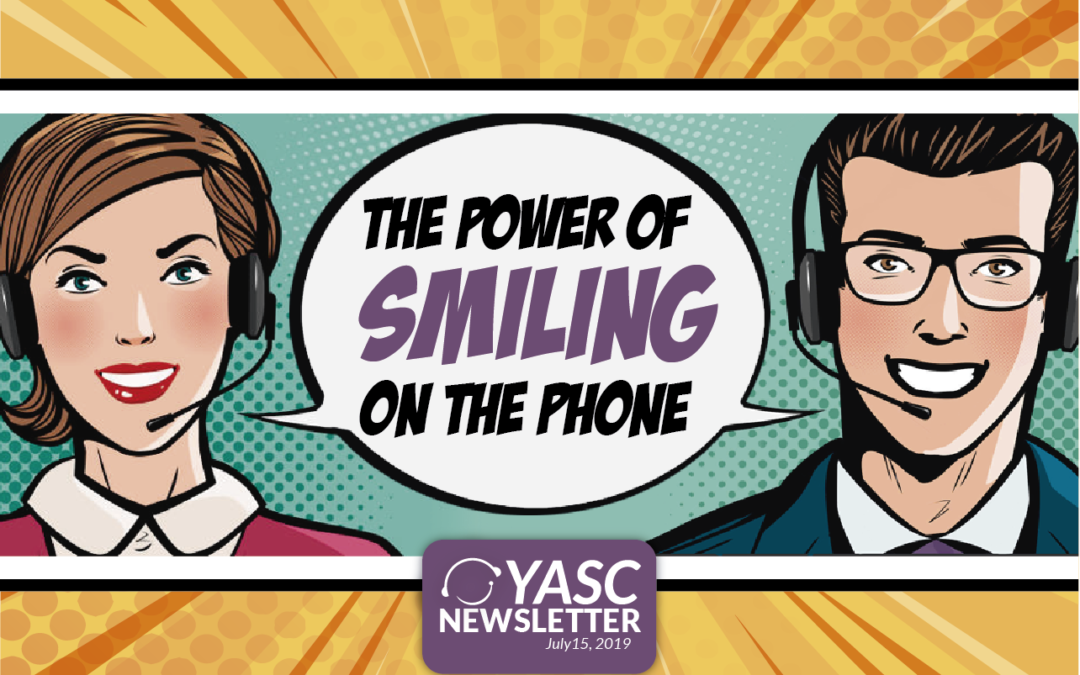 The Power of Smiling on the Phone