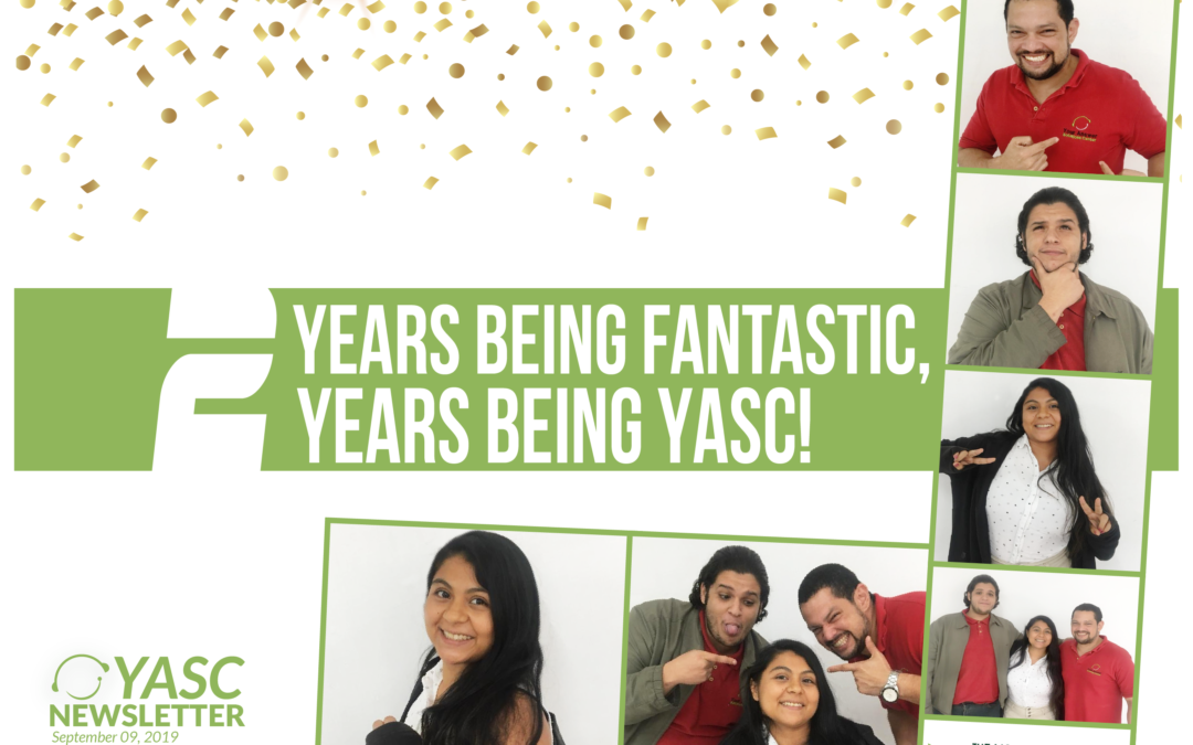 2 years being fantastic, 2 years being YASC!